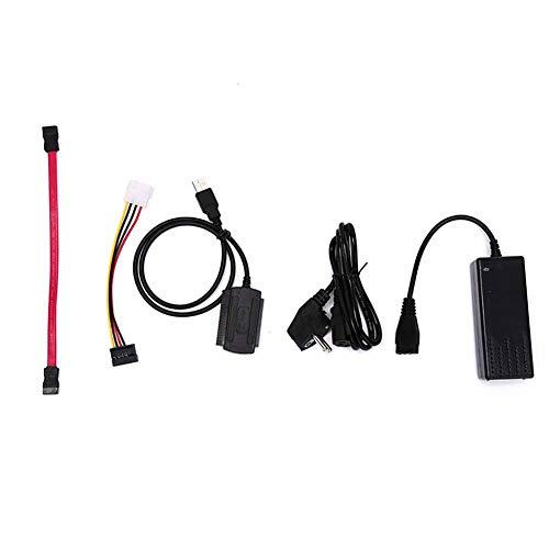 """Adapter-Konverter-Kabel Für 2.5/3.5"""" HD Hartfein 1 Satz SATA IDE-Laufwerk Zu USB 2.0"""