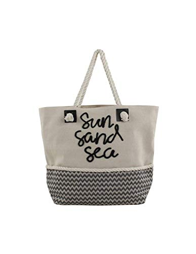 FOR TIME Canvas Bag Carrycot Sun Sand and Sea