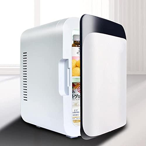 Mini nevera 8 litros, refrigeradores portátiles 2 en 1 con función de refrigeración y...