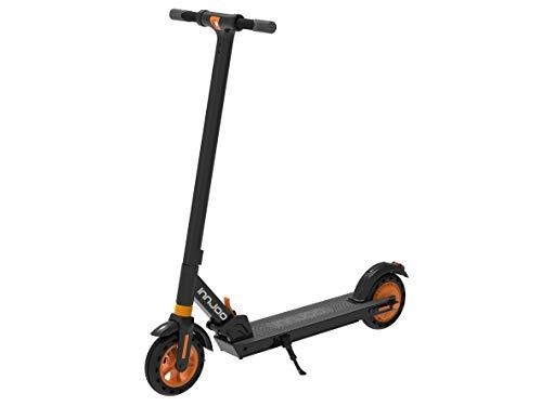 Innjoo Patinete ELECTRICO Scooter Ryder XL Pro 2 - Llantas 8' - Motor 350W - 25KM/H - SOPORTA 120KG (Naranja)