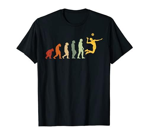 Évolution Volleyball Ballon Balle de Volley-ball Volleyball T-Shirt