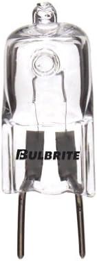 Bulbrite 全商品オープニング価格 655021 Q20GY8 120 20-Watt Line Halogen Voltage Dimmable 高品質新品