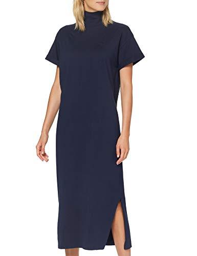 G-STAR RAW Damen Casual Dress New Disem Turtle Loose, Sartho Blue B771-6067, X-Small
