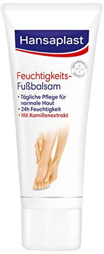 Hansaplast Feuchtigkeitsspendender Fußbalsam 1er Pack (75 ml), für die tägliche Fußpflege trockener Haut, Fußcreme für geschmeidige und schöne Füße