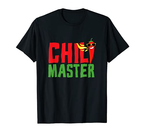 Chili Master I Pepperoni Hot Scoville Würze Jalapeno Chili T-Shirt