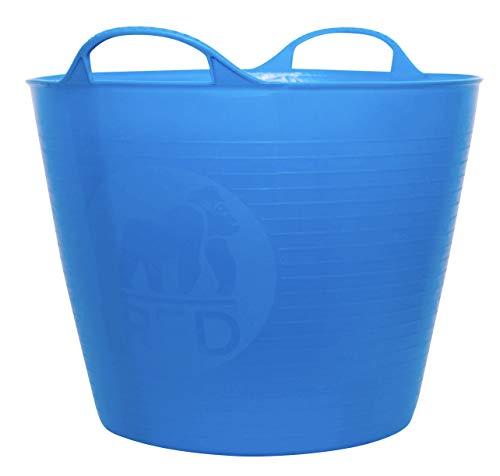 Decco Ltd SP26BL Cubo Flexible, Azul, 26 litros