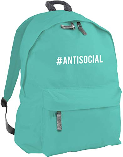 HippoWarehouse Hashtag Antisocial Backpack ruck Sack Dimensions: 31 x 42 x 21 cm Capacity: 18 litres