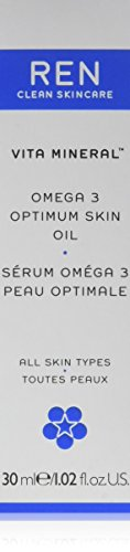 REN Vita Mineral Omega 3 Optimum Skin Serum Oil, gezichtsolie, 30 ml