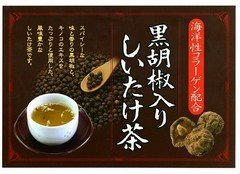 Black pepper containing shiitake tea 40 bags