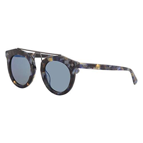 MCM Unisex-Erwachsene MCM636S-235 Sonnenbrille, Havana Azul, 49/25/140