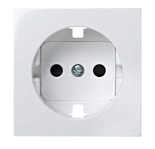 Simon 28041-60 - Tapa Enchufe 2P+T.T.Lateral Con Seguridad