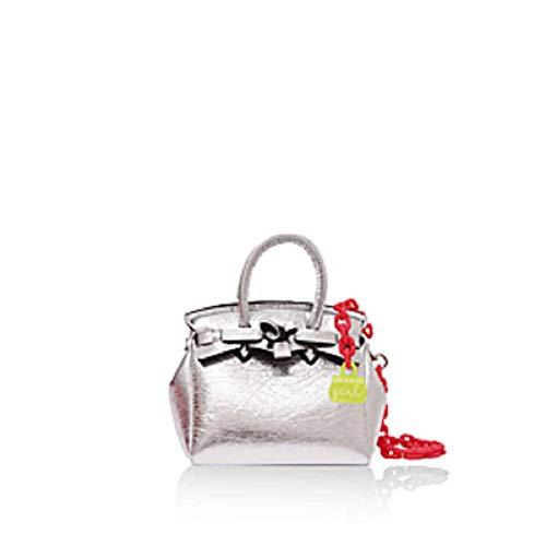 Save My Bag Kinder Handtasche - Miss Girl Laminated - Luna Silver