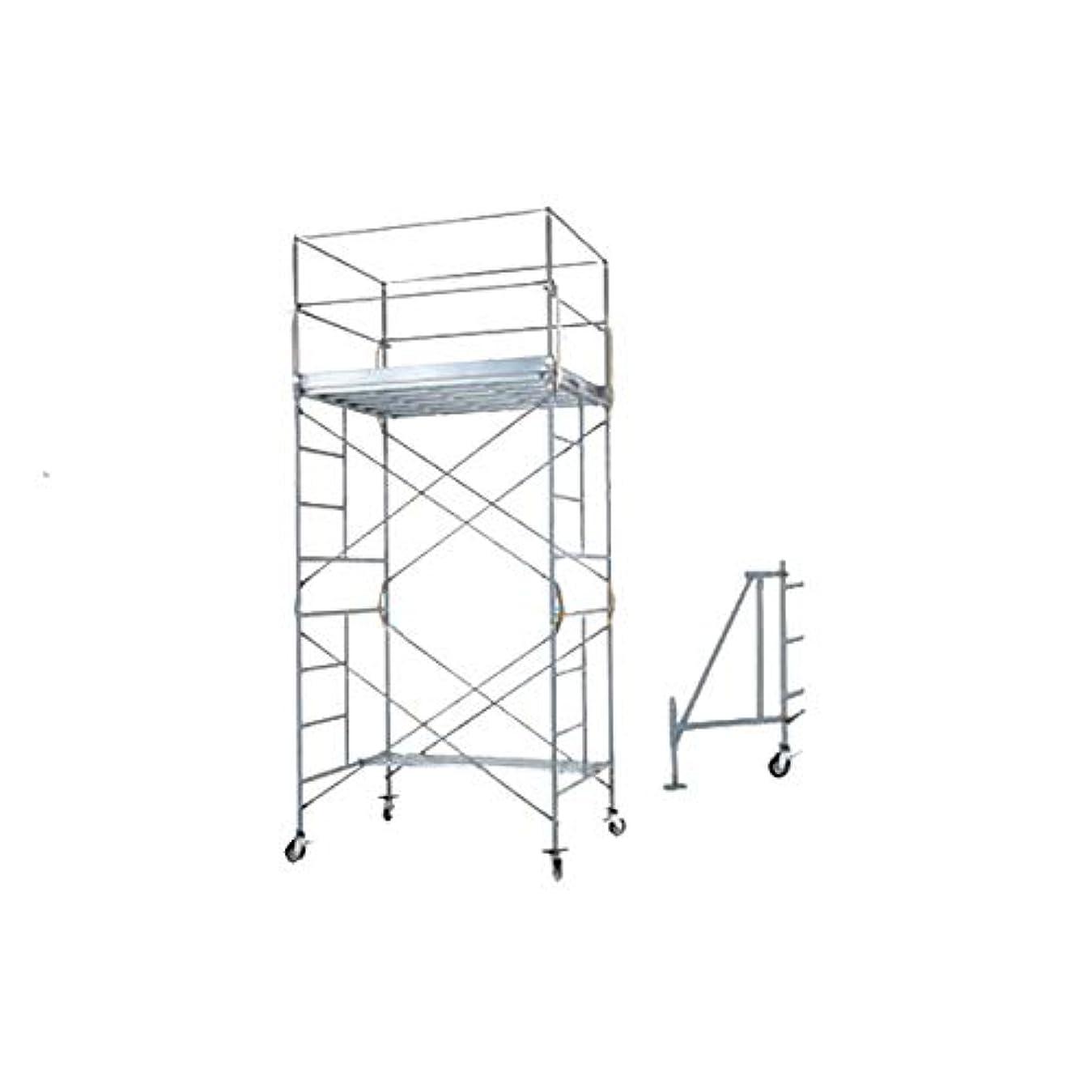 潜在的なリズミカルなベッドを作るPICA 鋼管製移動式足場 ローリングタワーRA(2段セット)メーカー直送品?代引不可 RA-2