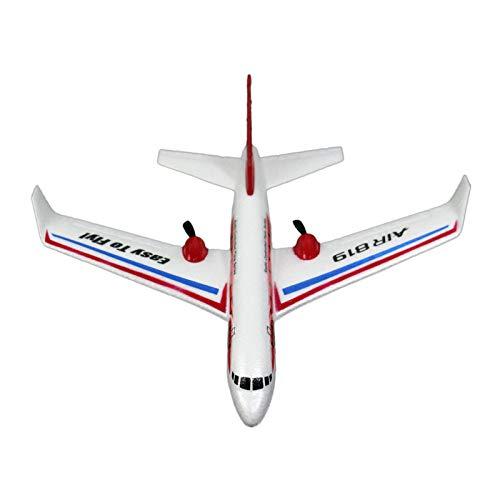 TwoCC Flugzeug, 2.4G Simulation Flugzeug Passagier Zivilluftfahrt Fernbedienung Drohne Schieben Funksteuerung 2Ch Rc Flugzeug Drohne Segelflugzeug Spielzeug Im Freien