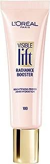 L'Oréal Paris Makeup Visible Lift Radiance Booster, skincare-based primer, 24hr hydration, instantly brightens, smoothes and evens skin, radiant finish, enriched with nourishing oils, 0.84 fl. oz.