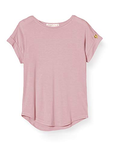Angels Face Slouch T-Shirt, Rosa (Vintage Rose Vintage Rose), Anni (Taglia Unica: 3-4) Bambina