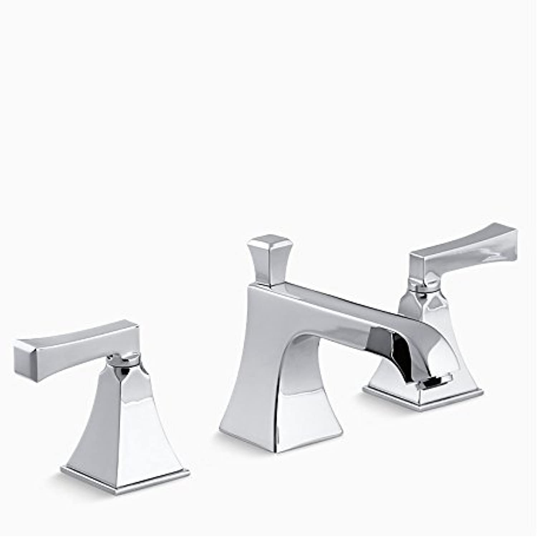XY&XH waschbecken Wasserhahn, Centerset Zwei Griffe DREI Lcher in Chrom Waschbecken Wasserhahn