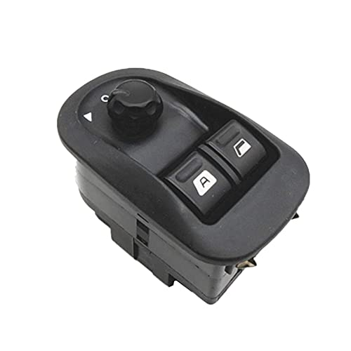 RJJX Interruptor de la Ventana eléctrica de la Ventana del Interruptor Master Control de Windows Mirror Switch 6554.WA Ajuste para Peugeot 206 2002-2013 2014 2015 2016 2016