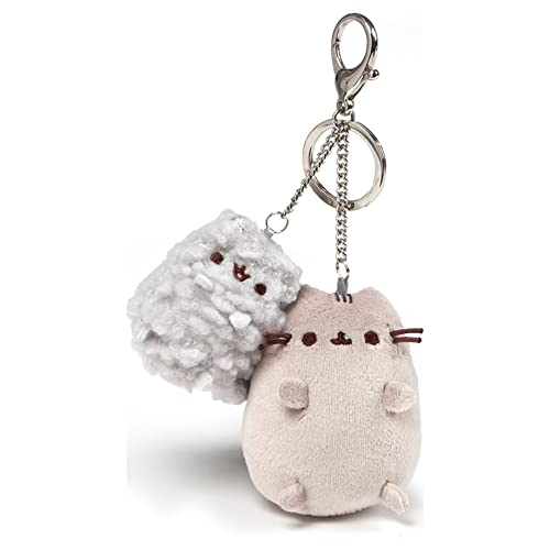 Enesco Pusheen and Stormy 4.5″ Deluxe Plush Keychain