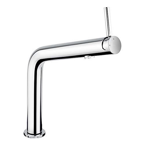 baliv KI-1160 Küchenarmatur verchromt | Schwenkbarer Wasserhahn, ausgezeichnet mit dem Designpreis Red Dot Award