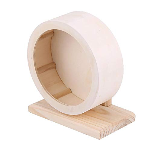 Yosooo Laufrad f¨¹r Kleintiere aus Holz, S