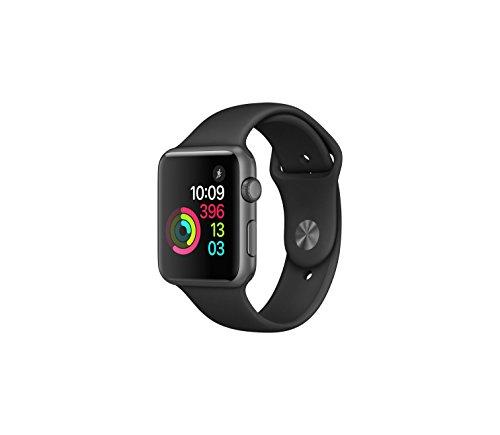 Apple Watch - Serie 1, Struttura in Alluminio di 42mm,...