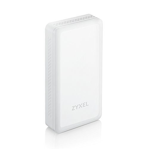 Zyxel Wireless 802.11ac Access Point mit intelligenter Antenne flaches Design für vielfältige Montageoptionen [WAC5302D-S]