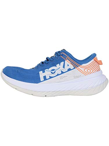 HOKA ONE ONE Men's Carbon X Running Shoe (Imperial Blue/White, Numeric_10_Point_5)