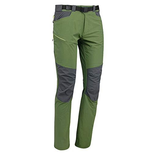 Quechua MH500 Men's Mountain Hiking Trousers - Green (UK 30 EU 38 (L33))