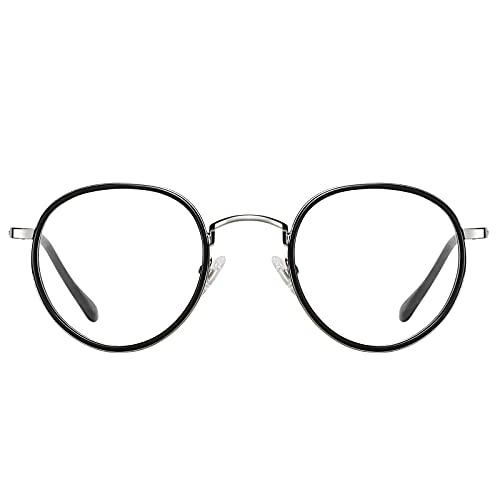 H HELMUT JUST Gafas Anti Luz Azul Pantalla Ordenador Monturas de Gafas Artístico TR90 y Acetato