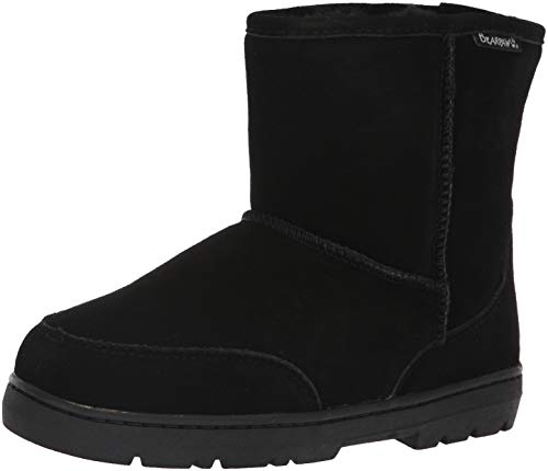 BEARPAW Men's Patriot Winter Boot, Black, 11 M US