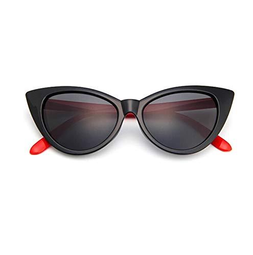 Without Marcos de Gafas Vintage señoras anteojos Gato Ojo Claro Gafas Marco Lujo Marca de diseño Gafas Mujeres Gafas Marco óptico espectáculo Marco (Frame Color : Red Leg L)