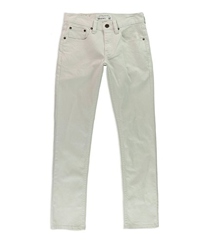 Ecko Unltd. Mens Fitted Skinny Fit Jeans, White, 34W x 32L