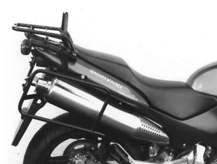 Hepco&Becker Rohrgepäckbrücke/Topcaseträger - schwarz für Honda CB 600 F Hornet/S bis Bj.2002