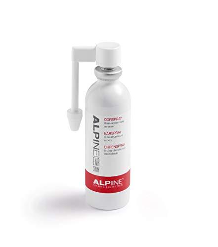 Alpine Spray per le Tappi orecchie e per la protezione dell'udito - Rimuove in modo sicuro il cerume in eccesso - Aumenta la durata dei tappi per le orecchie - Formula delicata con ingredienti attivi