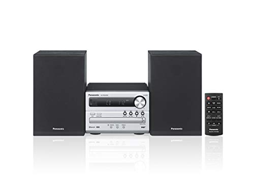 Panasonic SC-PM250BEG-S Sistema Micro, DAB+, CD, MP3, Radio RDS, USB, Bluetooth, 20 Watt RMS, Silver