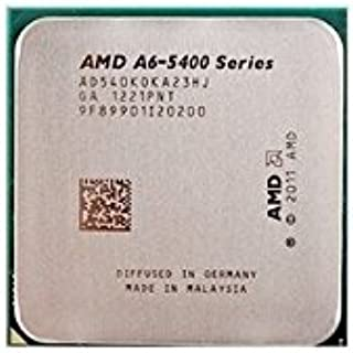 AMD A6-5400K Trinity Dual-Core 3.6GHz (3.8GHz Turbo) Socket FM2 904-pin 65W Desktop APU (CPU + GPU) with DirectX 11 Graphic AMD Radeon HD 7540D