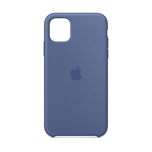 Apple Silikon Case (für iPhone 11) - Leinenblau