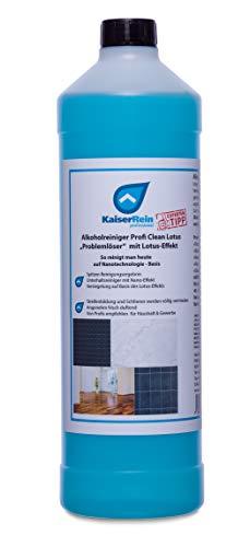 KaiserRein Bodenreiniger Fliesen und Oberflächen-Reiniger Profi Clean Lotus Konzentrat 1L (1000 ml) der perfekte Reiniger für Wischroboter I Reinigungsautomaten oder zur manuellen Reinigung