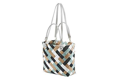 Kobolo Tasche Einkaufstasche Einkaufskorb Shopper Lockardi Belfast Premium XL