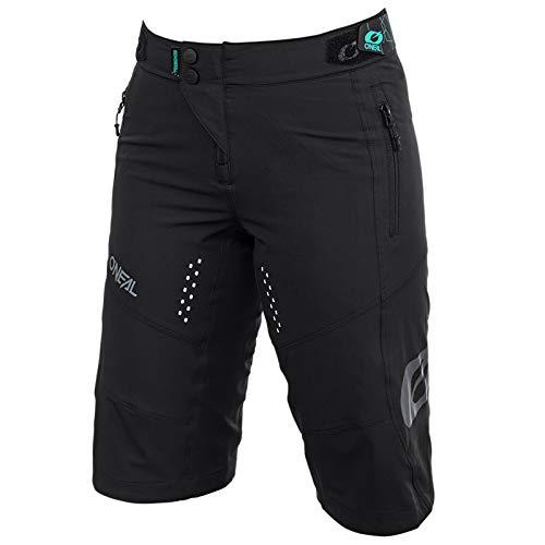 O'NEAL | Mountainbike-Hose | MTB Mountainbike DH Downhill FR Freeride | Weiblicher Schnitt, Schweißableitendes und atmungsaktiver Stretch | Soul Women's Shorts | Erwachsene | Schwarz | Größe M