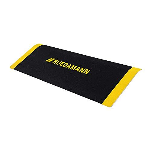 Ruedamann 12 x 32 Inch Portable Threshold Ramp, Aluminum Ramp for Wheelchair,Doorway Access Anti-Slip Surface Wheelchair Ramp(MR807-30)