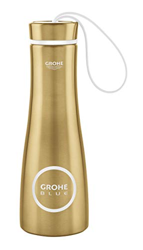 GROHE 40848GN0 Blue Thermo-Trinkflasche, cool sunrise gebürstet