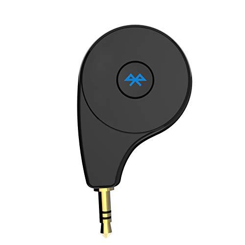 CAPTIANKN Adaptateur Bluetooth pour Voiture Portable Transmetteur Bluetooth sans Fil, Accueil Audio Bluetooth Receiver