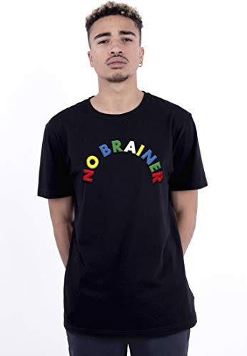 Cayler & Sons - T-Shirt da Uomo C&S WL No Brainer, Taglia XS, Colore: Nero/Grigio
