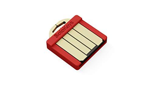 Somu - Llave de seguridad pequeña, autenticación de dos factores, U2F y FIDO2 - USB-A