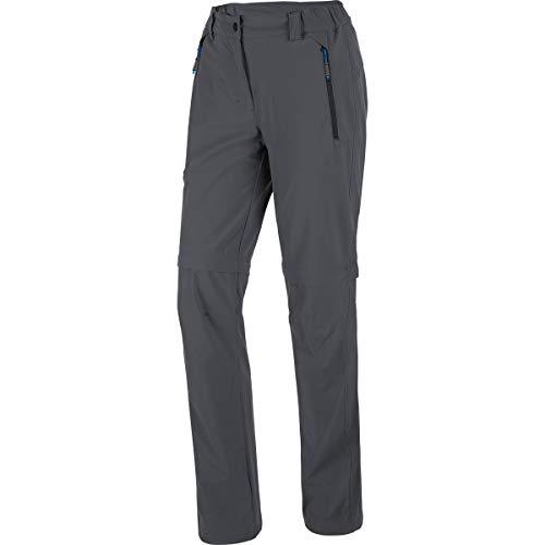 Salewa * melz DST W 2/1 rEG PNT Pantalon pour Femme, Melz DST W 2/1 Reg PNT, Gris (Magnet)