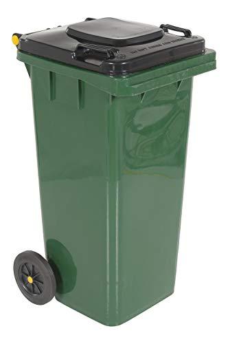 Vestil TH-32-GRN Polyethylene Garbage Can, 18-1/2' Width x 37-1/2' Height x 22' Depth, 32-Gallon Capacity, Green