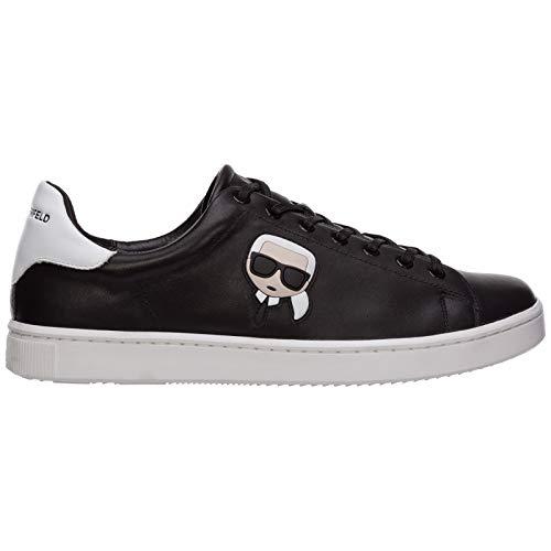 Karl Lagerfeld Herren k/ikonik Sneaker Nero 45 EU