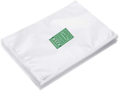 8 12 Inch Vacuum Sealer Bags Pre Cut Design Bags for Vacuum Sealer Heat Seal Bag Boilsafe Freezable product image
